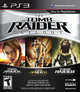Tomb Raider Trilogy, The - PS3 Game