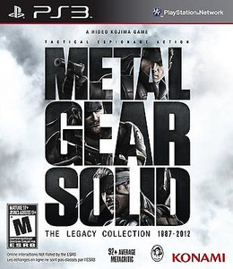 Metal Gear Solid Legacy Collection - PS3 Game