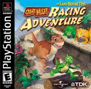 The Land Before Time Great Valley Racing Adventure - PS1 Game