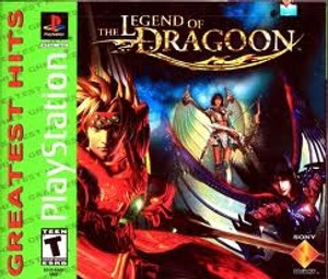 ew Sealed Legend of Dragoon Greatest Hits - PS1 Game