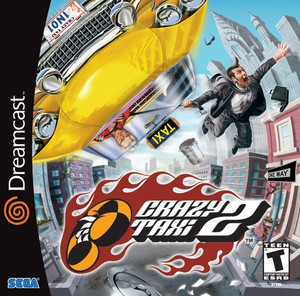 Crazy Taxi 2 - Dreamcast Game