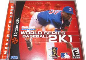 New Factory Sealed World Series Baseball 2K1 Sega All Stars - Dreamcast Game