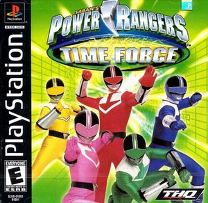 Power Rangers Time Force - PS1 Game