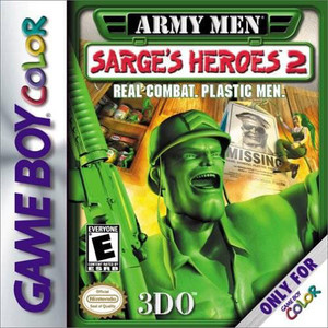 Army Men Sarge's Heroes 2 - Game Boy Color Game