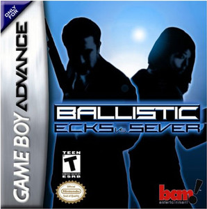 Ballistic Ecks vs Sever - Game Boy Advance Game