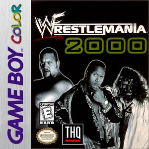 WWF Wrestlemania 2000 - Game Boy Color Game