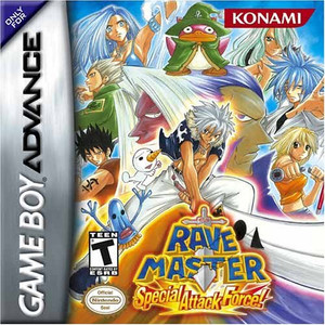 Rave Master Special Attack Force - Game Boy Advance Game