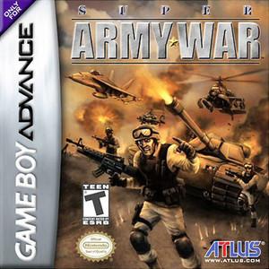 Super Army War - Game Boy Advance Game