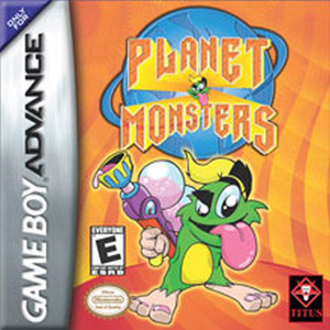 Planet Monsters - Game Boy Advance Game