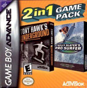 Tony Hawk's Underground, Kelly Slater's Pro Surfer - Game Boy Advance Game