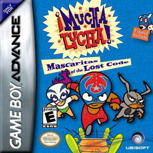 Mucha Lucha! Mascaritas of the Lost Code - Game Boy Advance Game
