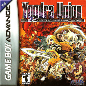 Yggdra Union We'll Never Fight Alone - Game Boy Advance Game
