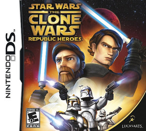 Star Wars The Clone Wars Republic Heroes - DS Game