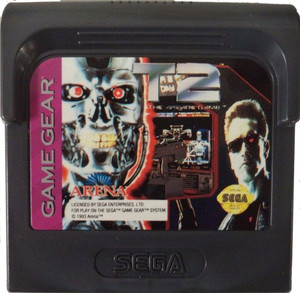 T2 the Arcade Game - Game Gear Game