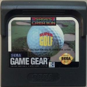 Super Golf - Game Gear Game