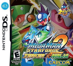 Mega Man Star Force 2 Zerker X Ninja - DS Game
