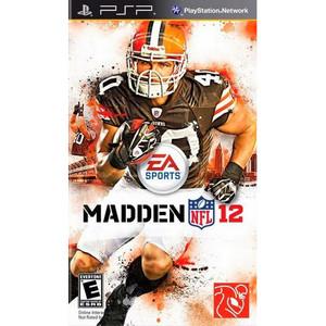 Madden NFL 12 - PSP Game