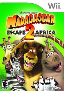 Madagascar Escape 2 Africa - Wii Game