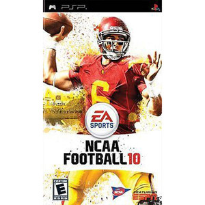 NCAA Football 10 - PSP Game