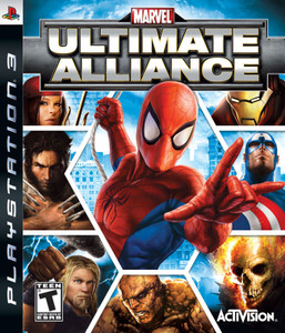 Marvel Ultimate Alliance - PS3 Game