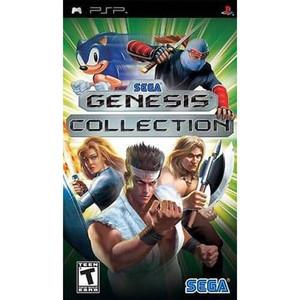 Sega Genesis Collection - PSP Game