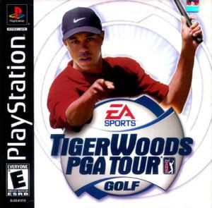 Tiger Woods PGA Tour Golf - PS1 Game