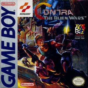 Contra The Alien Wars - Game Boy Game