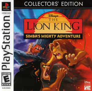 Complete Disney's The Lion King Simba's Mighty Adventure Collectors Edition - PS1 Game