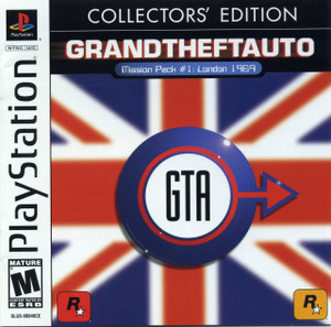 Grand Theft Auto GTA: London 1969 Collectors' Edition - PS1 Game