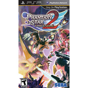 Phantasy Star Portable 2 - PSP Game