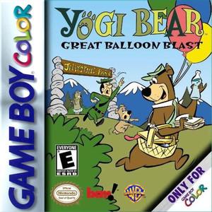Yogi Bear Great Balloon Blast - Game Boy Color