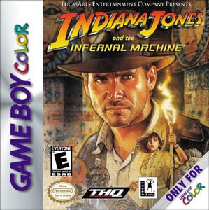 Indiana Jones and the Infernal Machine - Game Boy Color Game