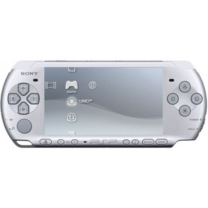 Sony PSP 3001 Handheld System Silver With Charger
