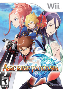 Arc Rise Fantasia - Wii Game