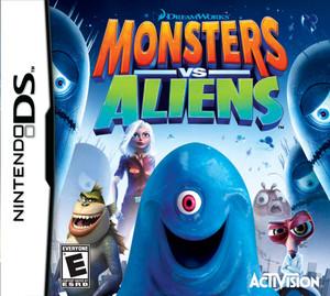 Monsters Vs Aliens - DS Game