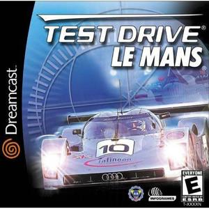 Test Drive Le Mans - Dreamcast Game