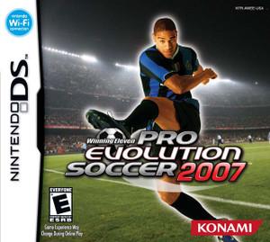 Winning Eleven Pro Evolution Soccer 2007 - DS Game
