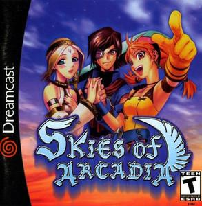 Skies of Arcadia - Dreamcast Game