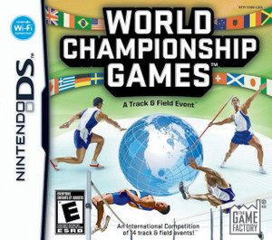 World Championship Games A Track & Field Event - DS Game