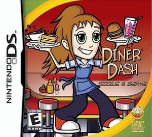 Diner Dash Sizzle & Serve - DS Game