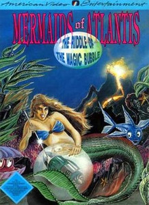 Mermaids of Atlantis: The Riddle of the Magic Bubble - NES Game