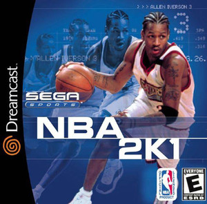 Complete NBA 2K1 - Dreamcast Game