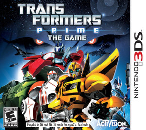 Transformers Prime: The Game - 3DS Game