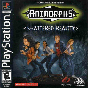 Animorphs Shattered Reality - PS1 Game