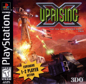 Uprising X - PS1 Game