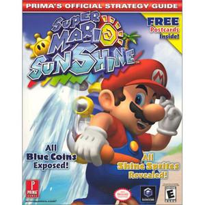 Super Mario Sunshine GameCube Strategy Guide - Prima