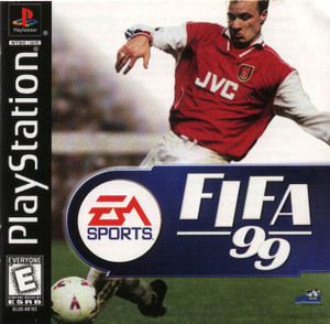 Fifa 99 - PS1 Game