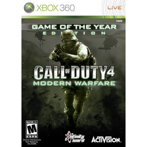 Call of Duty 4 Modern Warfare Game of the Year Edition - Xbox 360 Game