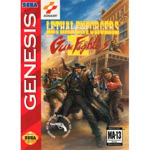 Lethal Enforcers II Gun Fighters - Empty Genesis Box