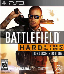 Battlefield Hardline Deluxe Edition - PS3 Game